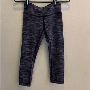 Lululemon striped Capri pants size 4